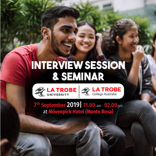 La Trobe Interview & Seminar Session