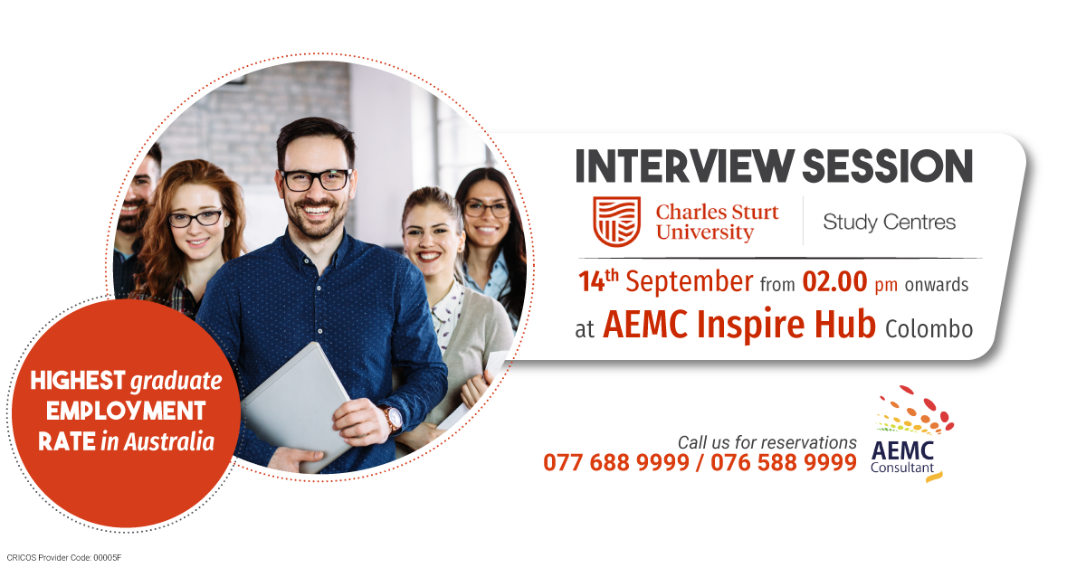 Charles Sturt University Interview Session