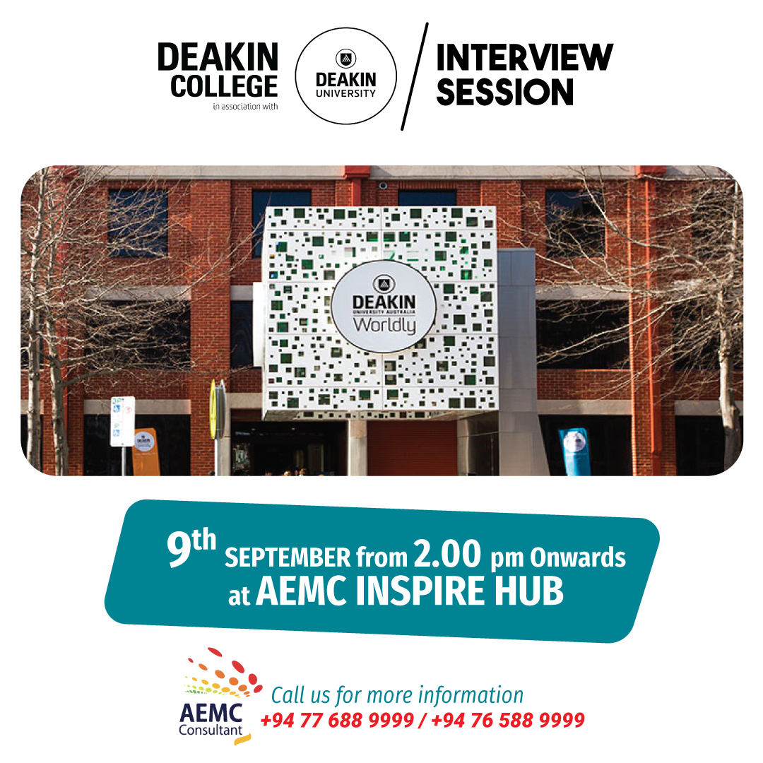 Deakin College Interview Session