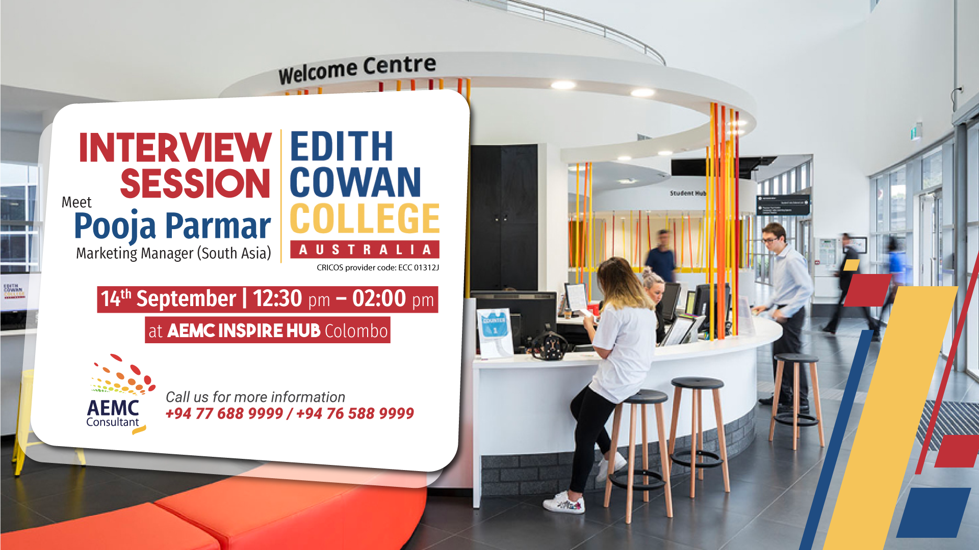 Edith Cowan College Interview Session