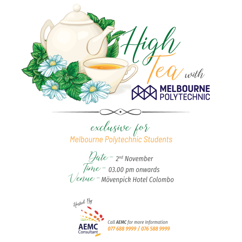 High Tea with Melbourne Polytechnic